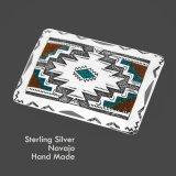アメリカインディアン ナバホ族 シルバー ハンドメイド ベルト バックル/Navajo Handmade Belt Buckle