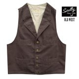 スカリー キャンバス ベスト(ウォールナット)/Scully Canvas Vest (Walnut)
