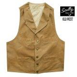 スカリー キャンバス ベスト(ブラウン)/Scully Canvas Vest (Brown)