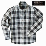 ペンドルトン トーマス・ケイ ジャスパー ウールシャツ(ブラック・タン)/Pendleton Thomas Kay Jasper Shirt