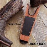 ブーツジャック 木製ステイン仕上げxブラック(ブーツ・靴を脱ぐ便利道具)/Boot Jack