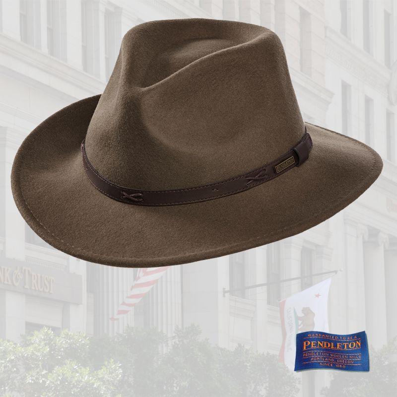 ペンドルトン Indiana Hats Charcoal ハット Pendleton